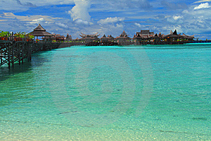 Mabul Island Royalty Free Stock Images - Image: 6026519