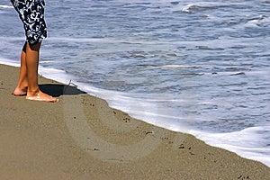 Boy At The Beach Stock Photos - Image: 6027563