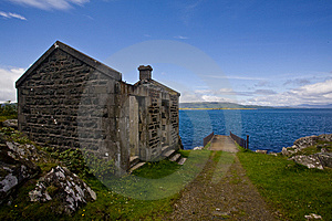The Abandoned Cottage Royalty Free Stock Photos - Image: 6028048