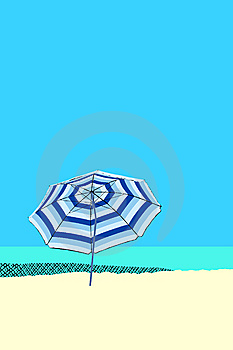 Beach Umbrella Royalty Free Stock Image - Image: 6028606