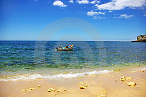 Seascape At  Portugal. Stock Photography - Image: 6031642