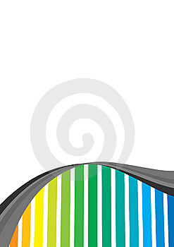 Rainbow Stripes Stock Images - Image: 6033204