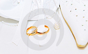 Wedding Background With Rings Royalty Free Stock Photography - Image: 6033497
