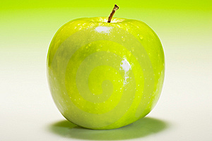 Fresh Green Apple Royalty Free Stock Image - Image: 6033606