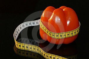 Slim With Vegetables Royalty Free Stock Photography - Image: 6034097