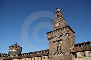 Castello Sforzesco Royalty Free Stock Image - Image: 6034546