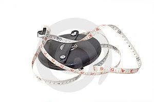 Measuring Tape Stock Photo - Image: 6036290