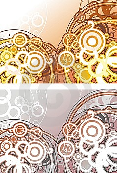 Abstract Fon Of Circles Stock Photography - Image: 6036352