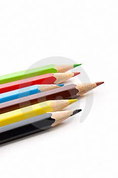 Colorful Pencils Royalty Free Stock Photos - Image: 6037128