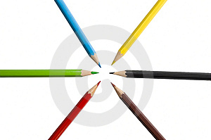 Colorful Pencils Royalty Free Stock Image - Image: 6037136