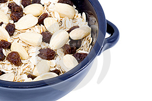 Bowl Of Oatmeal Stock Photography - Image: 6041272