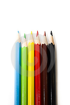 Colorful Pencils Stock Photography - Image: 6044742