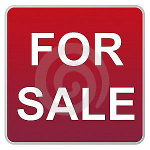 For sale Royalty Free Stock Image