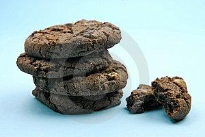 Choc Chip Cookies Stock Photo - Image: 6050270