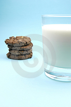Milk And Cookies Royalty Free Stock Photography - Image: 6050287
