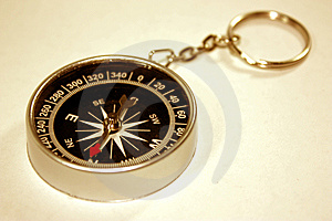 Black Compass Isolated Stock Image - Image: 6052951