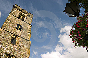 15th Century Clock Tower, Saint Albans,England Royalty Free Stock Photography - Image: 6057127