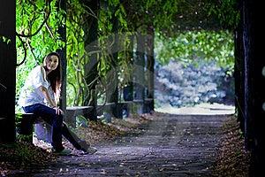 O Tempo De Lazer Na Floresta Imagens de Stock - Imagem: 6062944
