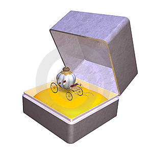 Cinderella Giftbox Stock Image - Image: 6065541