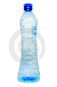 Slim Recycled Bottle Royalty Free Stock Photo - Image: 6065945