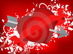 O Dia De Valentim 02 Foto de Stock - Imagem: 6067670