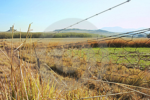 Fence In Countryside Royalty Free Stock Photos - Image: 6068708