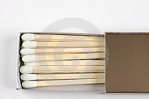 Match Sticks Stock Photography - Image: 6070342