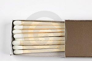 Match Sticks Stock Photography - Image: 6070342