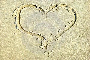 Hearts Drawn Royalty Free Stock Photo - Image: 6072435
