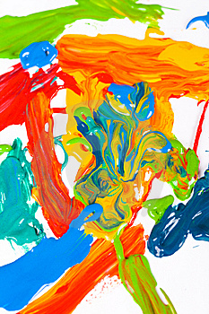 Abstract painting Free Stock Image