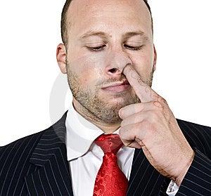 Man Digging His Nose Stock Photos - Image: 6074233