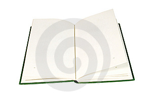 Open Book With Blank Pages Stock Photography - Image: 6075822