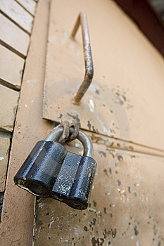 Old Lock Royalty Free Stock Photography - Image: 6076417