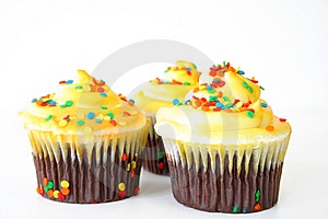 Beautiful Cupcakes Stock Photos