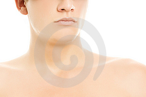 Cyber Man's Face Royalty Free Stock Image - Image: 6083206