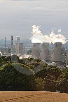 Grangemouth Refinery Royalty Free Stock Photography - Image: 6083297