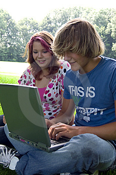 Summer study Free Stock Image