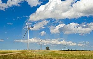 Wind Turbines Royalty Free Stock Image - Image: 6086656