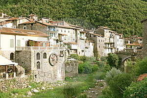 Liguria Village Royalty Free Stock Photography - Image: 6087627