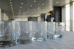 Glasses For Drinks Stock Images - Image: 6088314