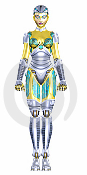 Female Humanoid Stock Photo - Image: 6088990