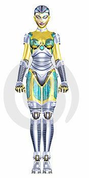 Female Humanoid Stock Photo - Image: 6088990