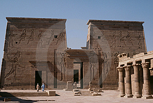 Temple Of Philae Royalty Free Stock Image - Image: 6091036