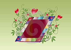 Floral Love Royalty Free Stock Image - Image: 6091066
