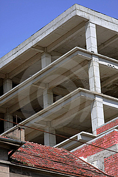 Construction Site Royalty Free Stock Photos - Image: 6091178