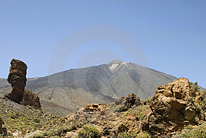 Mighty Teide Royalty Free Stock Photography - Image: 6091737