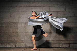 Man In Motion 13 Stock Photography - Image: 6092452