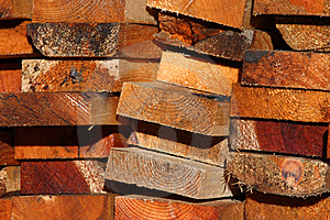 Heap Plank Royalty Free Stock Images - Image: 6092619