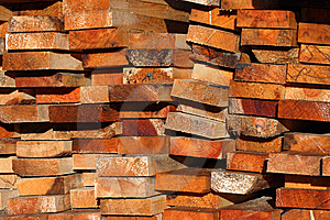 Heap Plank Stock Image - Image: 6092621