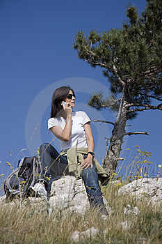 Hiker Royalty Free Stock Image - Image: 6093646